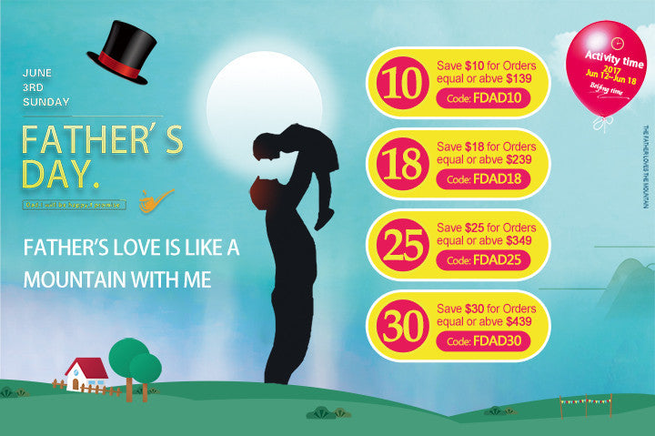 Father's Day Promotion From Flosmall