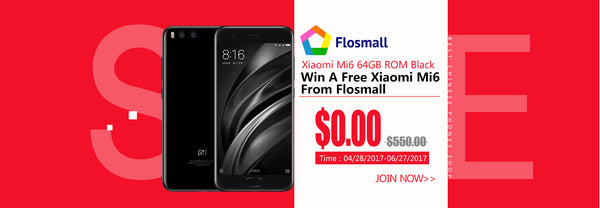 Xiaomi Mi6 Giveaway Event From Flosmall