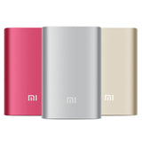 Xiaomi Original Power Bank(10000mAh)-Silver -Accessories -flosmall - 3