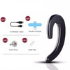 [No Earache]Flos S9 Mini Wireless Business Bluetooth V4.1 Headset With No-Earplug For iPhone Samsung Most Android Phones(Black)-1 PC Pack