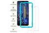 Ibywind Honor 10 Tempered Glass Screen Protector with Bubble Free Installation Applicator,Anti-Fingerprint,without White Edges for Honor 10(Pack of 2)-Transparent