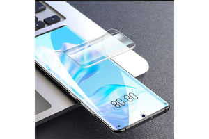 Ibywind Hydrogels Screen Protector For Huwei P30 Pro,[Pack of 2],Camera Lens Protector,Back Carbon Fiber Film Protector,In-Display Fingerprint Support,Bubble Free