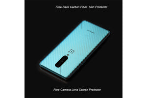 Ibywind Hydrogels Screen Protector For OnePlus 8,[Pack of 2],Camera Lens Protector,Back Carbon Fiber Film Protector,In-Display Fingerprint Support,Bubble Free