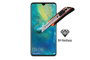 Ibywind Screen Protector for Huawei Mate 20 [Pack of 2] 9H Tempered Glass Screen Protectors with Easy Install Kit-Transparent