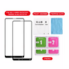 Xiaomi Mi Mix 2 Flos Full Screen Protection Tempered Glass Protector Black [2 PCS Pack]