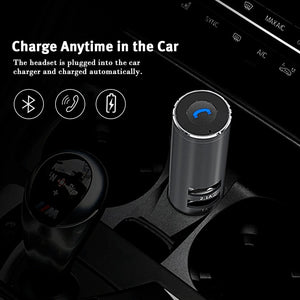 RB-T11C - 2 In 1 Fast Dual USB Car Chargers / Adapters and Magnetic Mini Bluetooth 4.0 Speakers / Headphones / Earphones / Headsets for iPhone, iPad, Galaxy, LG, Nexus, HTC and More