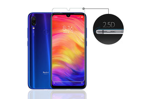 Ibywind Screen Protector For Redmi Note 7[Pack of 2] Premium 9H Tempered Glass Screen Protectors with Easy Install Kit-Transparent