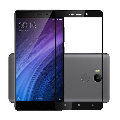 Xiaomi Redmi 4 Flos Tempered Glass Screen Protector black