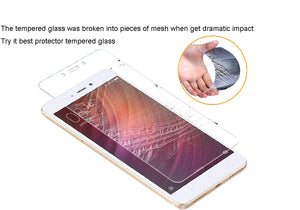 [2PCS PACK] Xiaomi Redmi Note 4/4X Pro With [MTK Processor] SCREEN PROTECTOR,**BUBBLE FREE INSTALLATION APPLICATOR** FLOS TEMPERED GLASS SCREEN PROTECTOR [ANTI-FINGERPRINT] FOR Xiaomi Redmi Note 4/4X Pro With [MTK Processor]-TRANSPARENT