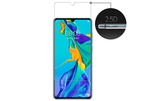 Ibywind Screen Protector for Huawei P30 [Pack of 2] 9H Tempered Glass Screen Protectors with Easy Install Kit-Transparent