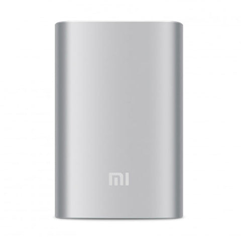 Xiaomi Original Power Bank(10000mAh)-Silver -Accessories -flosmall - 1