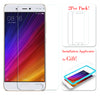 [2PCS PACK] Xiaomi Mi 5S SCREEN PROTECTOR,**BUBBLE FREE INSTALLATION APPLICATOR** FLOS TEMPERED GLASS SCREEN PROTECTOR [ANTI-FINGERPRINT] FOR Xiaomi Mi 5S -TRANSPARENT