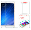 [2PCS PACK] Xiaomi Mi 5S Plus SCREEN PROTECTOR,**BUBBLE FREE INSTALLATION APPLICATOR** FLOS TEMPERED GLASS SCREEN PROTECTOR [ANTI-FINGERPRINT] FOR Xiaomi Mi 5S Plus -TRANSPARENT