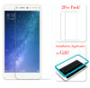 [2PCS PACK] Mi Max 2 SCREEN PROTECTOR,**BUBBLE FREE INSTALLATION APPLICATOR** FLOS TEMPERED GLASS SCREEN PROTECTOR [ANTI-FINGERPRINT] FOR Mi Max 2 -TRANSPARENT
