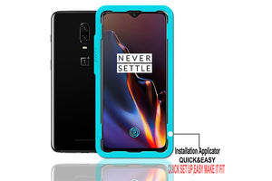 Ibywind OnePlus 6T Screen Protector [Pack of 2]-3D Full Coverage Premium Tempered Glass Screen Protectors with Easy Install Kit for OnePlus 6T