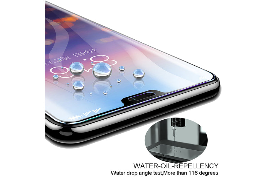 Ibywind OnePlus 6 Screen Protector [Pack of 2]-3D HD Full
