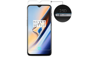 Ibywind Screen Protector for OnePlus 6T [Pack of 2] Premium 9H Tempered Glass Screen Protectors with Easy Install Kit-Transparent