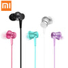 Original Xiaomi Piston Fresh Edition Earphone Mi In-Ear Piston Earphone Flat line design with Mic for Samsung Xaomi huawei