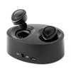 Flos K2 Bluetooth Headphones Wireless Dual Earbuds V4.1 Stereo Earphones Mini Headset with Built-in Mic and Charging Box for iPhone iPad Samsung Most Android Phones