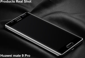 [2PCS Pack] Huawei Mate 9 Pro Soft 3D Full Screen Tempered Glass Screen Protector-Transparent