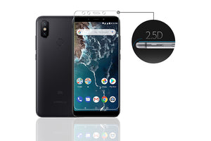 Ibywind Xiaomi Mi A2 Screen Protector [Pack of 2] Premium Tempered Glass Screen Protectors with Easy Install Kit for Xiaomi Mi A2