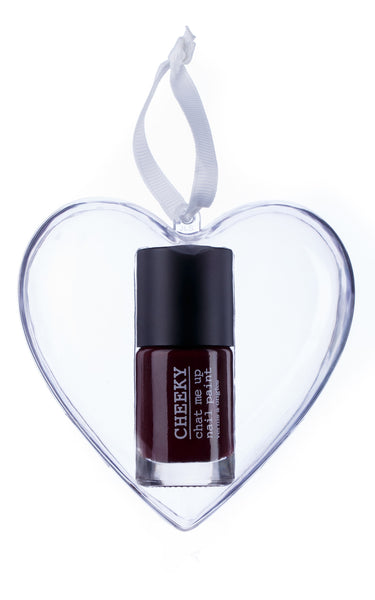 Heart Bauble - Cherry Nice
