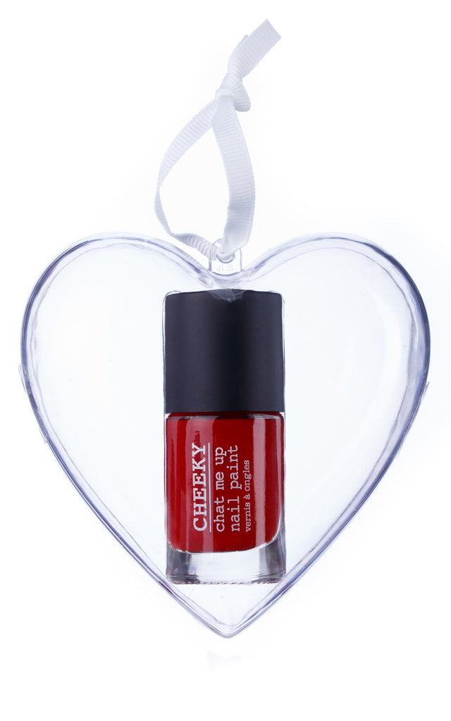 Heart Bauble - American Hot