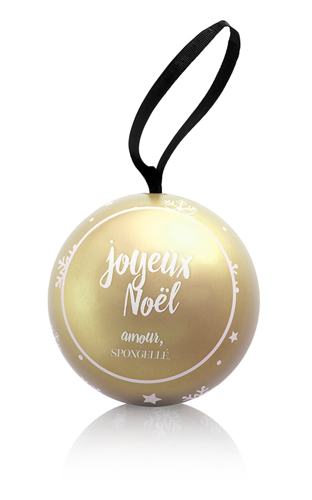 Holiday Shimmer Ornament - Radiant Amber