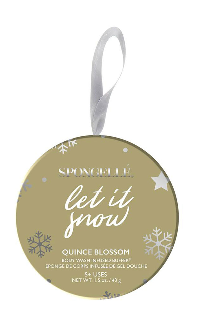 Holiday Ornament - Let It Snow