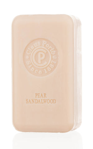 8741 - Pear Sandalwood - Soap Bar with Wax Seal 150g