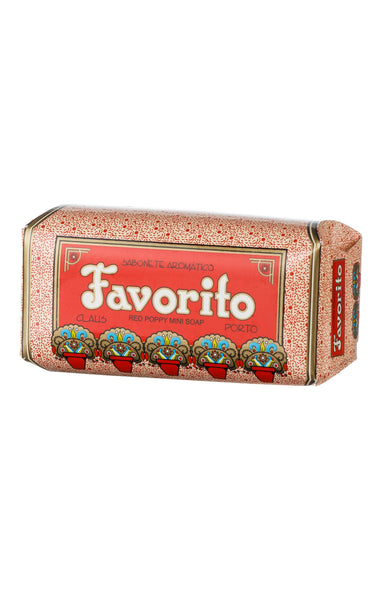 Favorito - Red Poppy - Mini Soap 50g