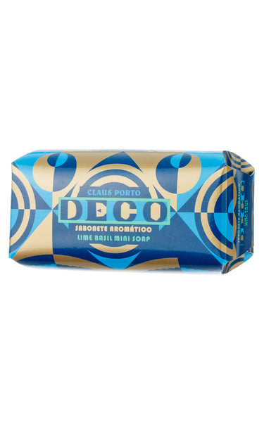 Deco - Lime Basil - Mini Soap 50g