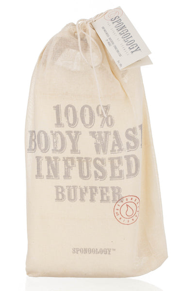 Body Wash Infused Back Buffer - Milk & Honey