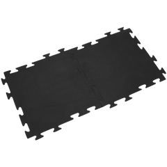 Rubber-Cal Armor-Lock (Fitness) Interlocking Rubber Tiles