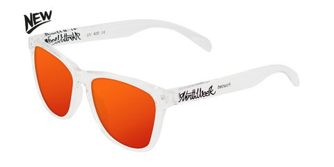 BRIGHT WHITE - RED POLARIZED