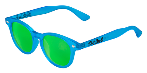 OU CIRCLE SMOKY BLUE - GREEN POLARIZED