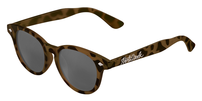 OU CIRCLE TORTOISE BROWN - SILVER POLARIZED