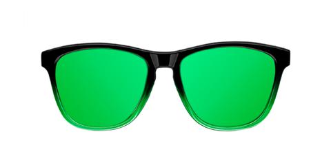 GRADIANT SHINE BLACK & GREEN POLARIZED