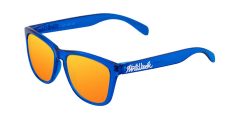 BRIGHT BLUE - ORANGE POLARIZED