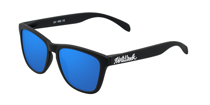 Gafas de sol polarizadas MATTE BLACK - BLUE POLARIZED