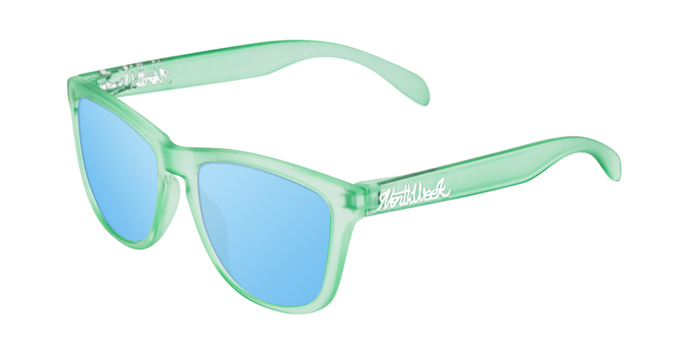 Gafas de sol polarizadas SMOKY GREEN - ICE BLUE POLARIZED