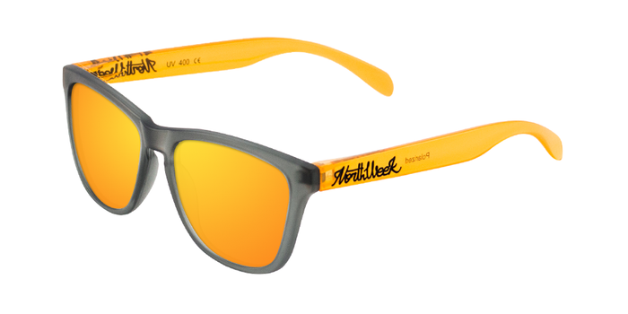 Gafas de sol polarizadas SMOKY GREY & BRIGHT ORANGE - ORANGE POLARIZED