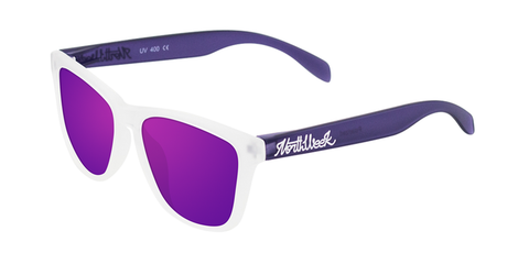 SMOKY WHITE & PURPLE - PURPLE POLARIZED