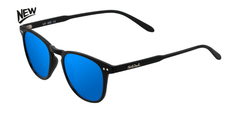 AW17 | WALL SHINE BLACK - BLUE POLARIZED