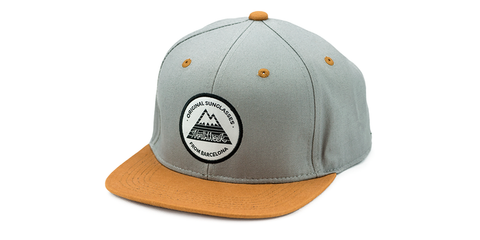 SNAPBACK GREY - BROWN