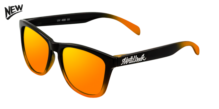 AW17 | GRADIANT SHINE BLACK - ORANGE POLARIZED