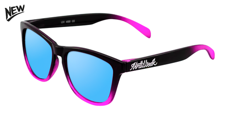 AW17 | GRADIANT SHINE BLACK & PINK - ICE BLUE POLARIZED