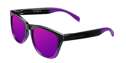 GRADIANT SHINE BLACK & PURPLE - PURPLE POLARIZED