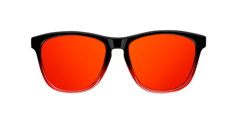 GRADIANT SHINE BLACK & RED - RED POLARIZED