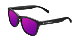 REGULAR MATTE BLACK - PURPLE POLARIZED